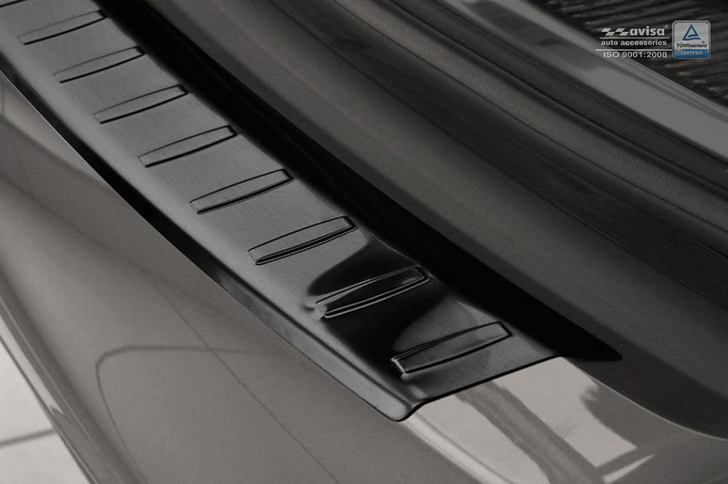 Globmel Kryt prahu zadních dveří Škoda Superb II facelift kombi - černý grafit