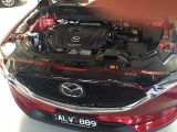 Plexi lišta přední kapoty Mazda CX-5 II