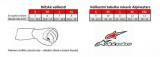 Závodní rukavice Alpinestars Tech 1 Race - bílé/červené