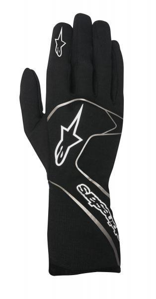 Závodní rukavice Alpinestars Tech 1 Race - černé/bílé