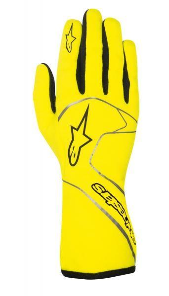 Závodní rukavice Alpinestars Tech 1 Race - žluté/černé