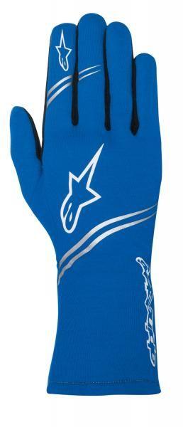 Závodní rukavice Alpinestars Tech 1 Start - modré