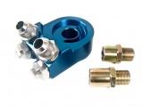 Adaptér pod olejový filtr M20 x 1,5 a 3/4-16UNF (D-10) - šikmé výstupy