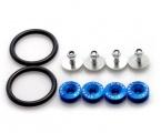 Rychlospojky / úchytky pro nárazník - modré