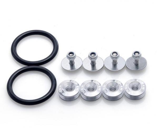 Rychlospojky / úchytky pro nárazník - stříbrné Epman