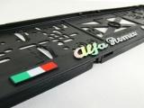 Podložka pod SPZ 3D Alfa Romeo CUORE SPORTIVO