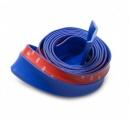 Univerzální pružný lip / spoiler - modrý - délka 2,5m