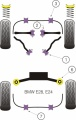 Silentbloky Powerflex BMW E24 (79-89) / E28 (82-88) Front Lower Tie Bar To Chassis Bush (1)