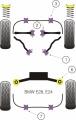 Silentbloky Powerflex BMW E24 (79-89) / E28 (82-88) Front Anti Roll Bar Mounting Bush 14mm (3)