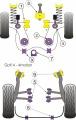 Silentbloky Powerflex VW Golf 4 4-motion Rear Wishbone Inner Bush (5)