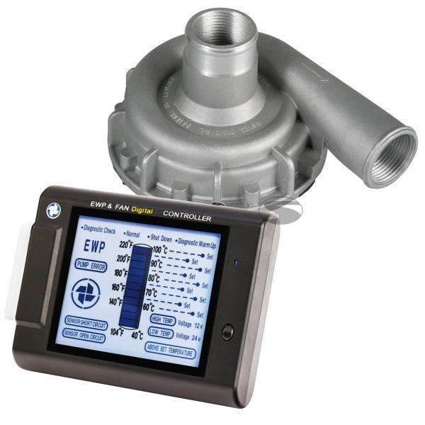 Elektrická vodní pumpa s kontrolním panelem Davies Craig 24V - 115l/m