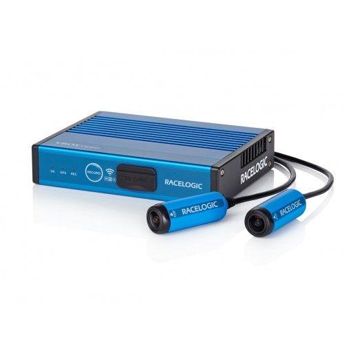Záznamové zařízení Racelogic VBOX Video HD2 se dvěma kamerami a OLED displayem