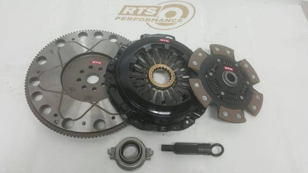 Spojkový kit RTS Performance Subaru Impreza GD 5-st. (01-05) - Stage 6 keramická se setrvačníkem (skupina N)