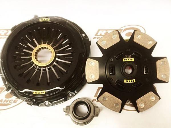 Spojkový kit RTS Performance Mitsubishi Evo 4/5/6/7/8/9 (96-08) - Stage 6 keramická se setrvačníkem (skupina N)