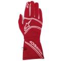 Závodní rukavice Alpinestars Tech 1 Start - červené
