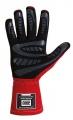 Závodní rukavice OMP First-S - červené