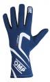 Závodní rukavice OMP First-S - modré
