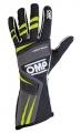 Závodní rukavice OMP Tecnica Evo - černé/žluté