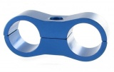Separátor na vedení - průměr 2x 12,7mm - modrý