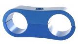 Separátor na vedení - průměr 2x 14,3mm - modrý