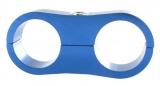 Separátor na vedení - průměr 2x 25,4mm - modrý