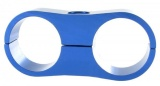 Separátor na vedení - průměr 2x 27mm - modrý