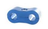 Separátor na vedení - průměr 2x 4,8mm - modrý