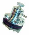 Regulátor tlaku paliva Sytec PBV EFI 1,7:1 - stříbrný