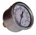 Ukazatel tlaku paliva (manometr) Sytec s glycerinovou náplní 0-7bar - výstup vzadu