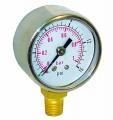 Ukazatel tlaku paliva (manometr) Sytec s glycerinovou náplní 0-1bar - výstup vzadu