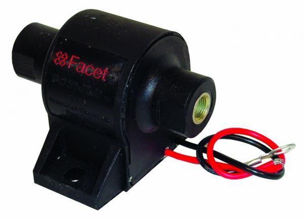 Univerzální nízkotlaká palivová pumpa Facet Posi-Flow 129l/h - 60302 se zpětným ventilem