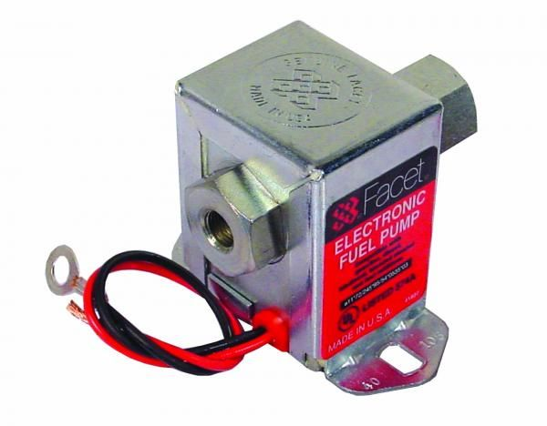 Univerzální nízkotlaká palivová pumpa Facet Solid State Road 95l/h - 40254