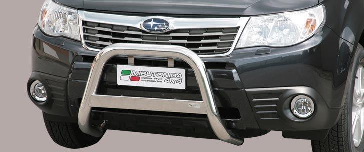 Nerezový přední ochranný rám Subaru Forester, 63mm misutonida