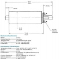 Univerzální vysokotlaká pumpa Walbro 255l/h - typ GSL392 - 12mm / banjo M12x1.5