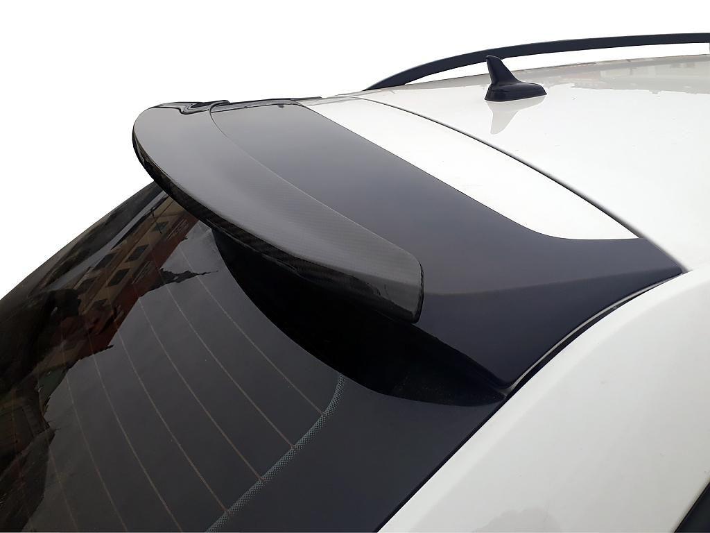 Karbon nástavec střešního spoileru 5E9071605 Škoda Octavia III kombi