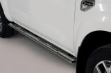 Nerez boční designové nášlapy Renault Alaskan