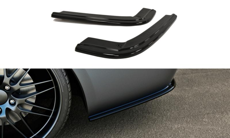Maxtondesign Boční spoiler pod zadní nárazník BMW 3 E92 MPACK