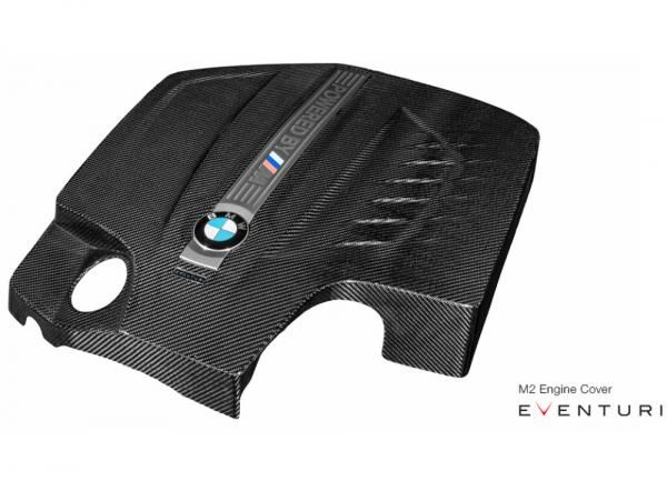 Eventuri karbonový kryt motoru pro BMW 2-Series F22 M235i N55 3.0 (13-16)
