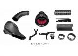 Karbonové sání Eventuri pro Audi S4 B8 (07-17) / S5 B8 3.0 TFSI (08-15) - černý karbon