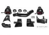 Karbonové sání Eventuri pro BMW 3-Series F80 M3 (14-18) / 4-Series F82 / F83 M4 (14-) - černý karbon s ocelovým vedením k turbu