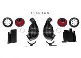 Karbonové sání Eventuri pro Lamborghini Huracan (14-) - černý karbon