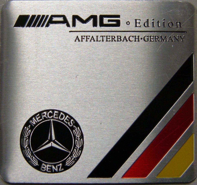 Samolepící znak Mercedes AMG Edition