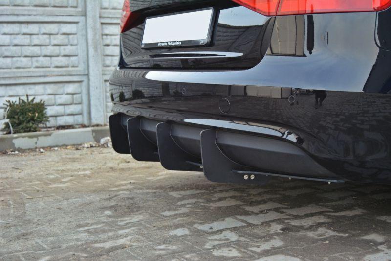 Maxtondesign Středový spoiler pod zadní nárazník A4 B8 AVANT Facelift