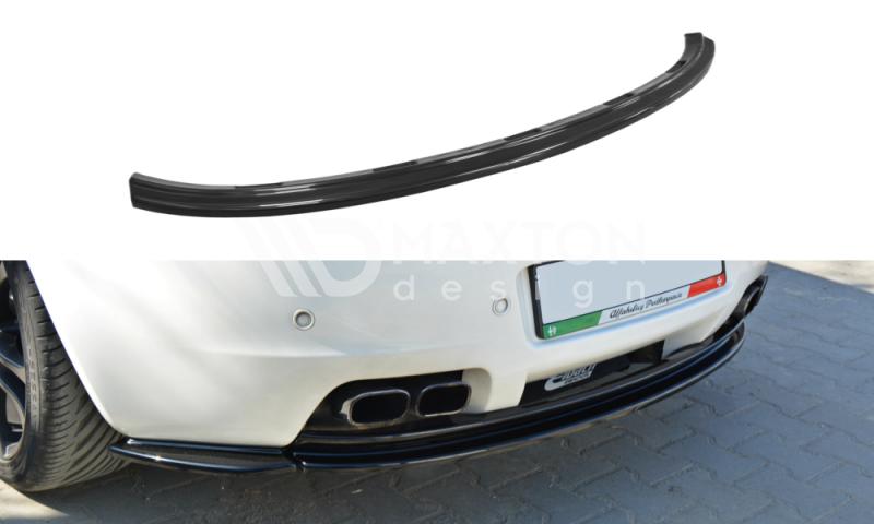 Maxtondesign Středový spoiler pod zadní nárazník Alfa Romeo Brera (bez vertikálních pruhů)