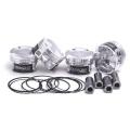 Kované písty ZRP Diamond Series na Opel Astra H/J / Corsa D / Insignia / Meriva A / Zafira B 1.6 Turbo Z16LET - 79.00mm - 8.9:1 (klika 89mm stroker)