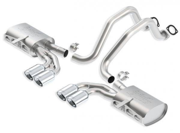 Borla Exhaust Catback výfuk Borla pro Chevrolet Corvette C5 vč. Z06 5.7 V8 automat/manuál (97-04) - homologace