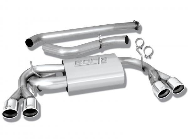 "Borla Exhaust Catback výfuk Borla pro Subaru Impreza hatchback WRX/STi (08-14) - ""S-Type"""
