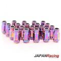 Kolové matice (štefty) Japan Racing JN1 závit M12 x 1.5 - neochrome (ocelové)