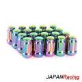 Kolové matice (štefty) Japan Racing JN2 závit M12 x 1.5 - neochrome (ocelové)