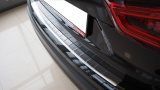 Kryt prahu zadních dveří - pattern nerez AUDI A4 (B8) KOMBI Alufrost